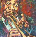 Louis Armstrong Poster by Tachi Pintor