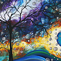 Love and Laughter by MADART Print by Megan Duncanson
