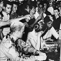 LUNCH COUNTER SIT-IN, 1963 Print by Granger