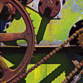 Machinery gears  Poster by Garry Gay