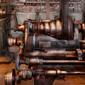 Machinist - Steampunk - 5 Speed Semi Automatic Poster by Mike Savad