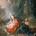Madonna and Child Print by Francois Boucher