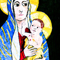 Madonna and Child Poster by Jame Hayes