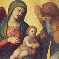 Madonna and Child with Angels Poster by Correggio