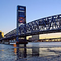 Main Street Bridge at Sunset Poster by Rick Wilkerson