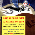 Malaria Mosquito Poster by War Is Hell Store