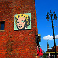Marilyn Monroe in Detroit Poster by Guy Ricketts