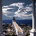MARSHALL POINT LIGHTHOUSE MAINE Poster by Skip Willits