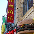 McDonalds Hamburger Restaurant . Fishermans Wharf . San Francisco California . 7D14249 by Wingsdomain Art and Photography