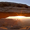 Mesa Arch Panorama Poster by Andrew Soundarajan