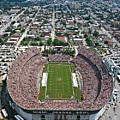 Miami Aerial of Orange Bowl Stadium Poster by Scott B Smith Photography