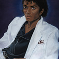 Michael Jackson All Time Thriller Poster by Joyce Hayes