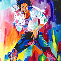 Michael Jackson Wind Poster by David Lloyd Glover