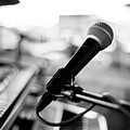 Microphone On Empty Stage Poster by image by randymsantaana