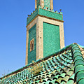 Minaret Of Grand Mosque Poster by Kelly Cheng Travel Photography