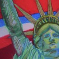 Miss Liberty Poster by Emily Michaud