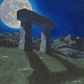 Moon Gate Print by Martin Bellmann
