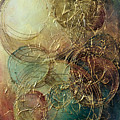 Moon thread Print by Michael Lang