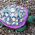 Mosaic Turtle Poster by Jamie Frier