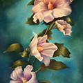 Mothers Rose of Sharon Print by Marti Bailey
