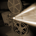 Movie Projector  Print by Mike McGlothlen