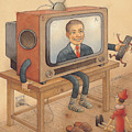 My Telly Poster by Kestutis Kasparavicius