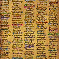 Names of God - Inspirational Scripture Painting Print by Annie Laurie