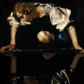 Narcissus Poster by Caravaggio