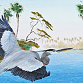 Nature Coast 2 Print by KEVIN BRANT