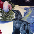 Night Before Xmas Print by Terry  Chacon