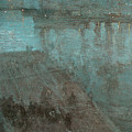 Nocturne in blue and Gold Valparaiso Poster by James Abbott McNeill Whistler