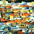 North African Townscape Print by Robert Tyndall