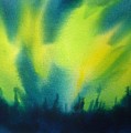 Northern Lights I Poster by Kathy Braud