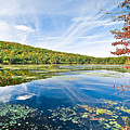 Northern New Jersey Lake Print by Ryan Kelly