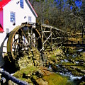 Old 1886 Mill Poster by KAREN WILES