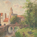 Old Bridge in Bruges  Print by Camille Pissarro