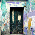 Old Door 4 by Darian Day Print by Olden Mexico