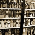 Old Drug Store Goods Print by DigiArt Diaries by Vicky B Fuller