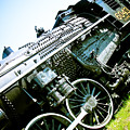 Old Locomotive 01 Print by Michael Knight