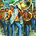 Olympia Brass Band Print by Dianne Parks