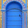 Ornate Moroccan Doorway, Essaouira, Morocco, Middle East, North Africa, Africa Poster by Andrea Thompson Photography