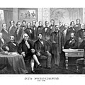 Our Presidents 1789-1881 Poster by War Is Hell Store