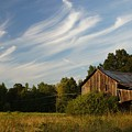 Painted Sky Barn Print by Benanne Stiens