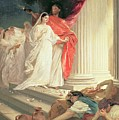 Parable of the Wise and Foolish Virgins Print by Baron Ernest Friedrich von Liphart