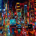 Party Of Lights Poster by Debra Hurd
