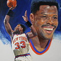 Patrick Ewing Poster by Cliff Spohn