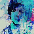 Paul McCartney Poster by Naxart Studio