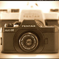 Pentax 110 Auto Poster by Mike McGlothlen