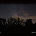 Perseid Meteor in Milky Way Print by PJQandFriends Photography