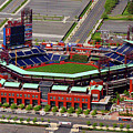 Phillies Citizens Bank Park Print by Duncan Pearson